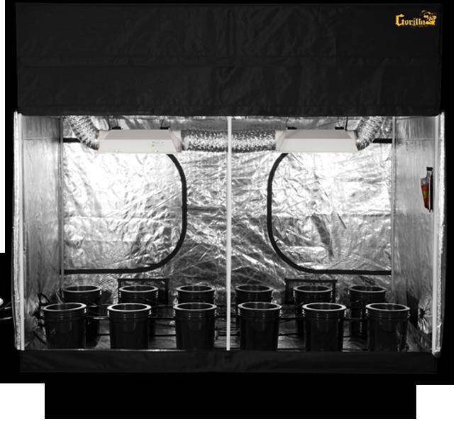 SuperCloset 5x9 SuperRoom Hydroponic Grow Room