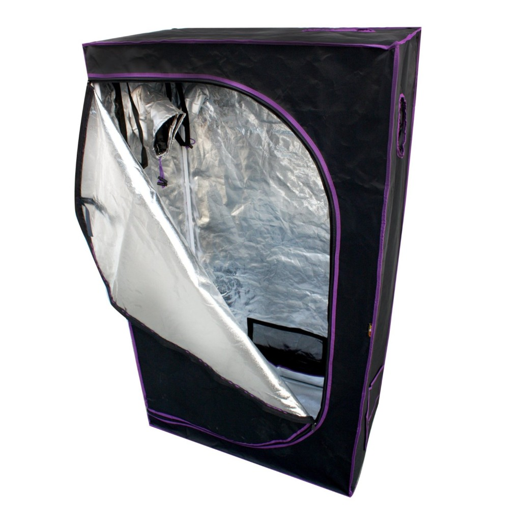 "Apollo Horticulture 36""x20""x62"" Mylar Hydroponic Grow Tent"