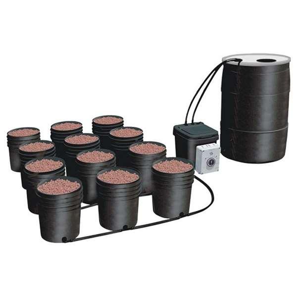 C.A.P. Ebb & Gro System 12-Site Hydroponic w/ Starter Nutrient Kit / EBB-12