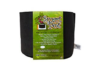 Smart Pots 3-Gallon Smart Pot Soft-Sided Container, Black